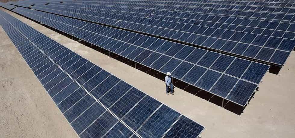 Solární elektrárny v Chile