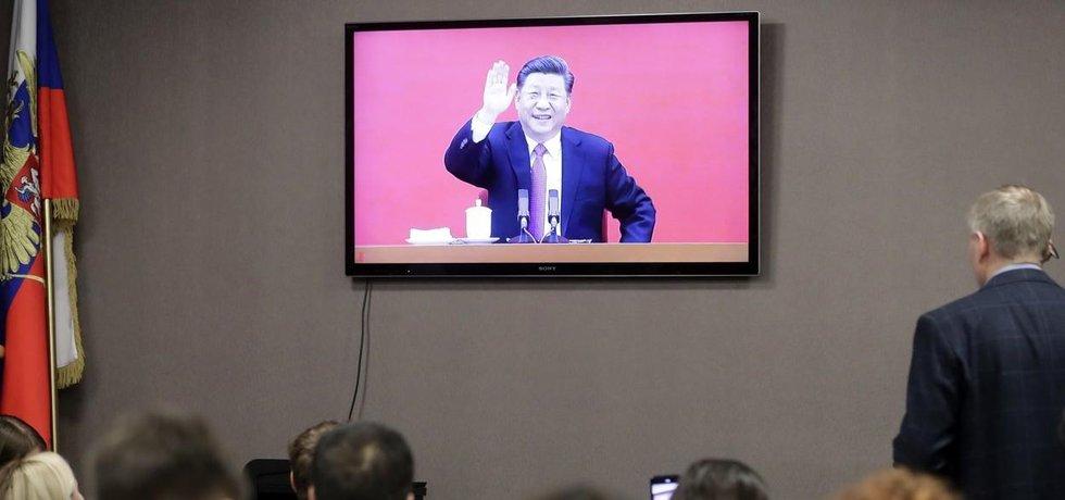 Vladimir Putin a Si Ťin-pching zahájili prostřednictvím telemostu provoz plynovodu Síla Sibiře