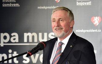 Expremiér a prezidentský kandidát Mirek Topolánek
