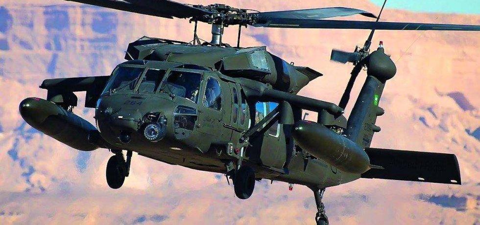 Black Hawk UH-60M od amerického výrobce Sikorsky-Lockheed Martin