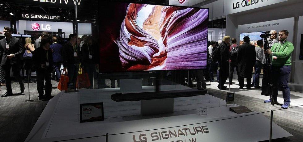 Obrazovka OLED od LG Display