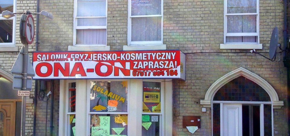 Polský obchod ve Velké Británii
