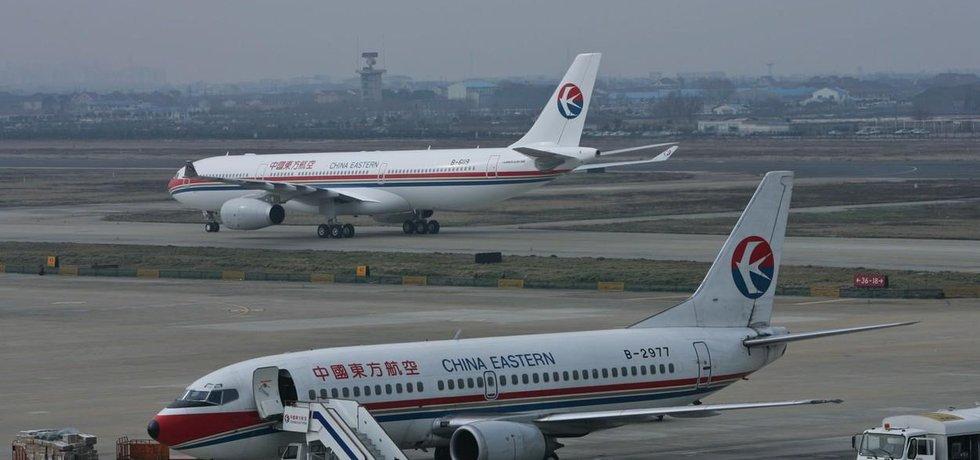 China Eastern má zájem o podíl v pražském letišti