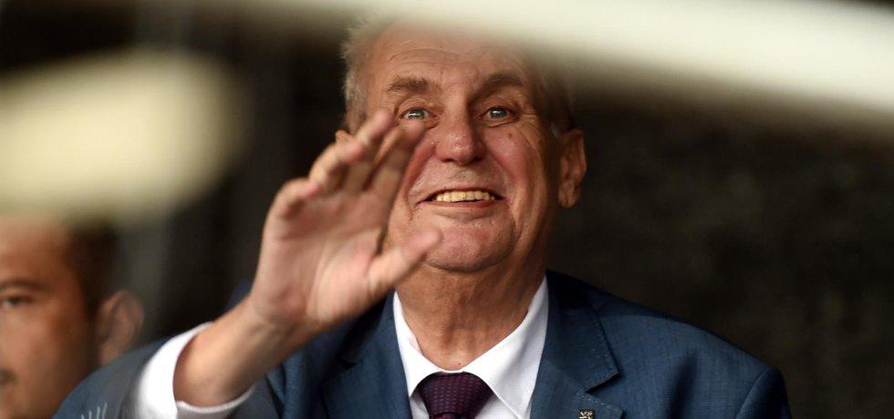 Miloš Zeman by se za Česko zřekl peněz z fondů Evropské unie
