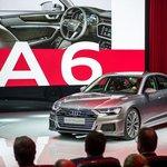 Audi A6 na autosalónu v Ženevě