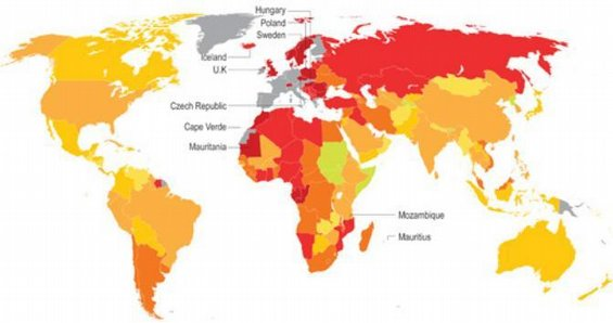 Index citlivosti zemí na krizi eurozóny