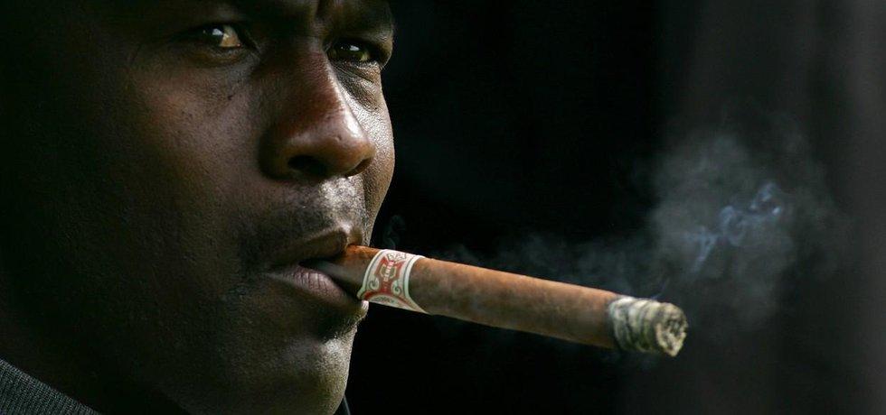 Basketbalová legenda Michael Jordan