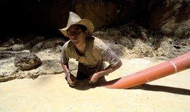 Ilegální těžba zlata ve Francouzské Guyaně, ilustrační foto