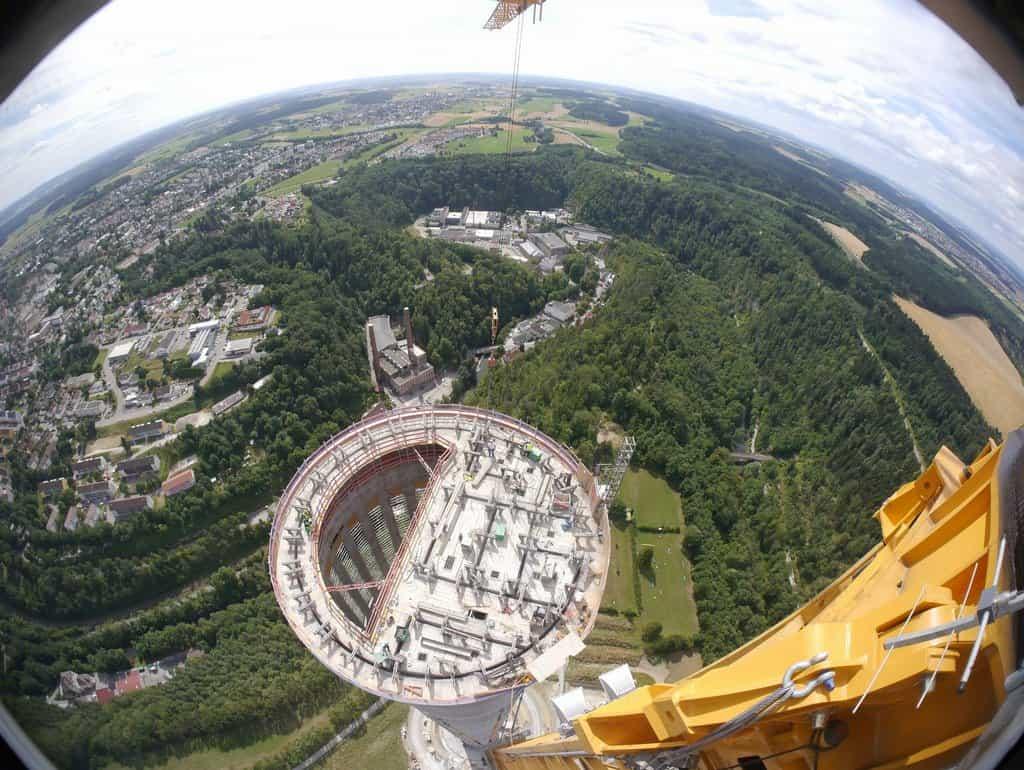 Testovací věž firmy ThyssenKrupp