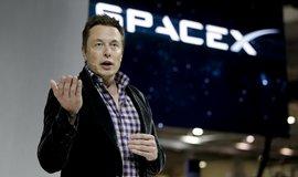Zakladatel SpaceX Elon Musk