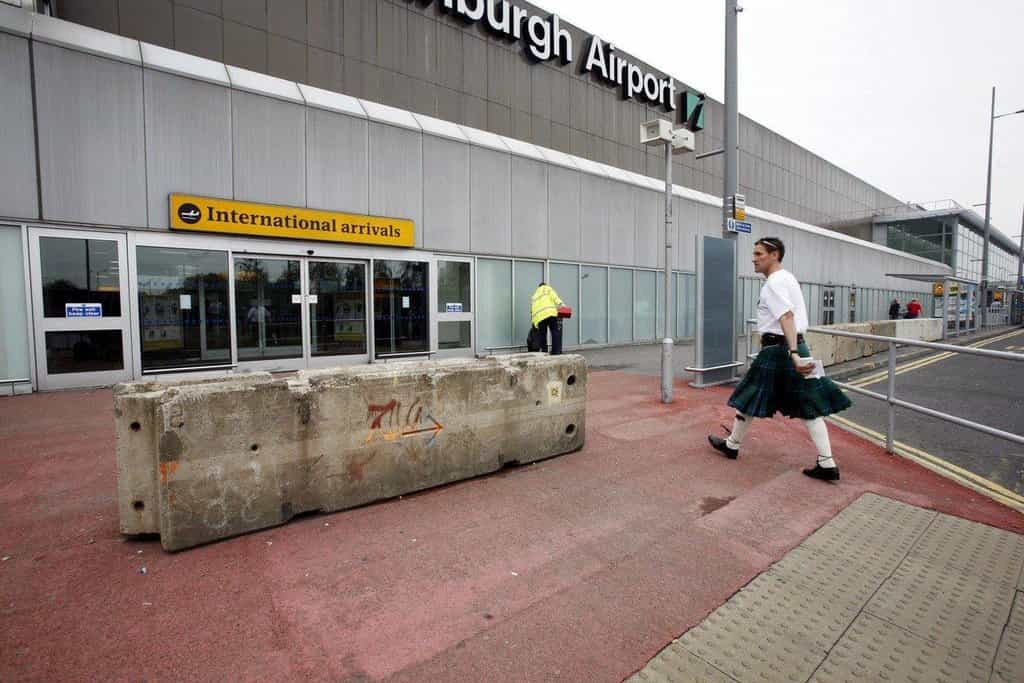 8. Edinburgh Airport (EDI), Velká Británie — 6.29