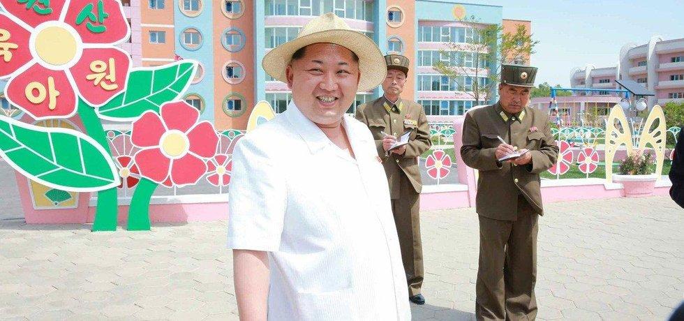 Severokorejský diktátor Kim Čong-un slaví 35. narozeniny, ilustrační foto