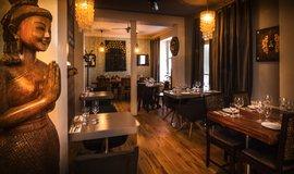 Interiér Café Buddha Balbínova