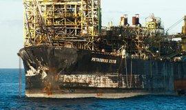 Ropná plošina společnosti Petrobras, ilustrační foto