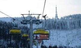 Polské lyžařské středisko Ščyrk