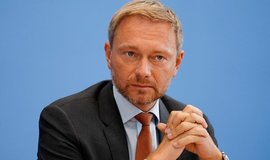Předseda strany FDP Christian Lindner.