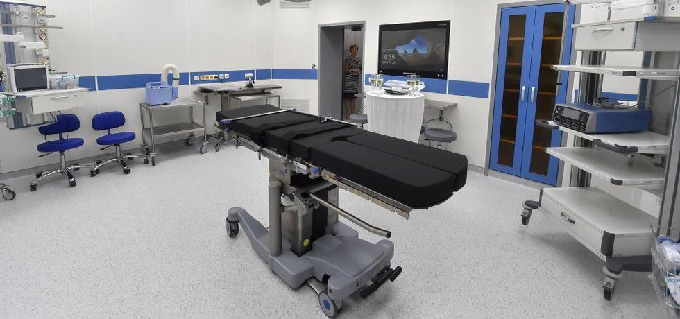 Operační sál, ilustrační foto