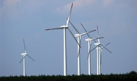 Ilustrační foto větrné elektrárny
