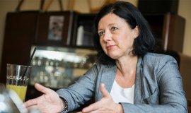 Jourová má v Evropské komisi zájem o digitální agendu, vnitřní trh nebo obchod