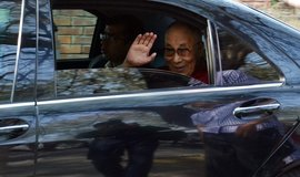 Tibetský duchovní vůdce 14. dalajláma Jeho Svatost Tändzin Gjamccho, ilustrační foto
