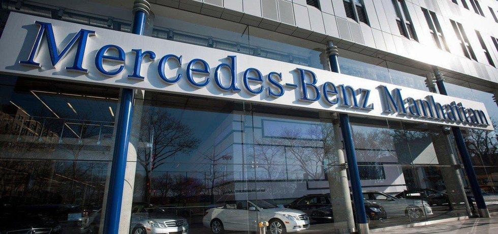 Prodejna Mercedes-Benz na Manhattanu, iluastrační foto