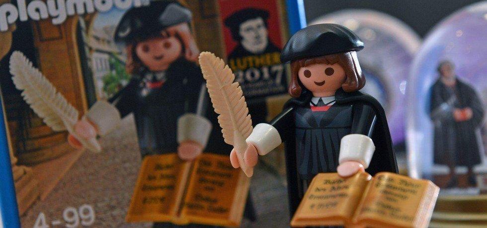 Postavička církevního reformátora Martina Luthera