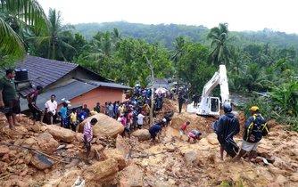 Záplavy na Srí Lance si vyžádaly 150 životů