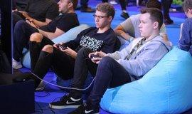 Hraní videoher - ilustrační foto