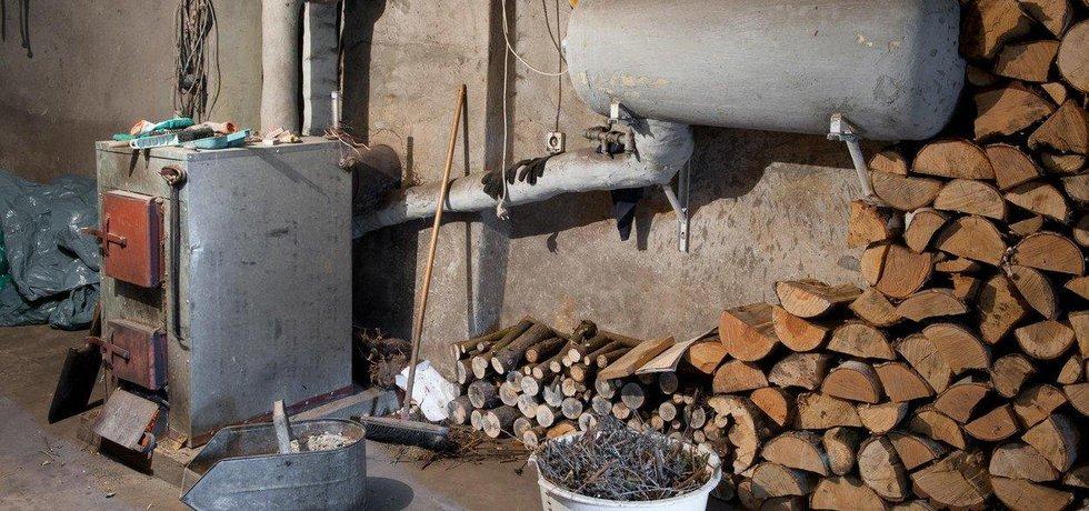 Kotel na tuhá paliva, ilustrační foto