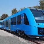 Vlak na vodíkový pohon Coradia iLint.