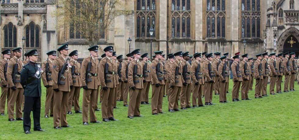 Britská armáda, ilustrační foto