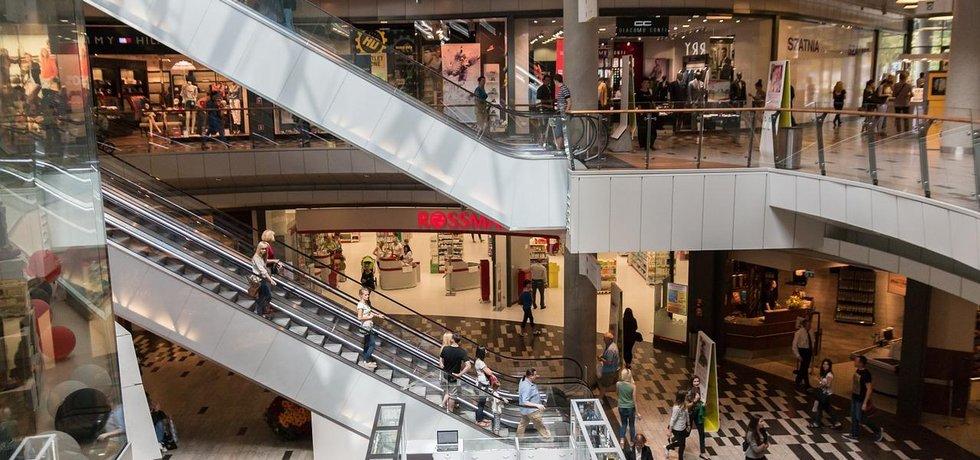 Obchodní centrum v Polsku