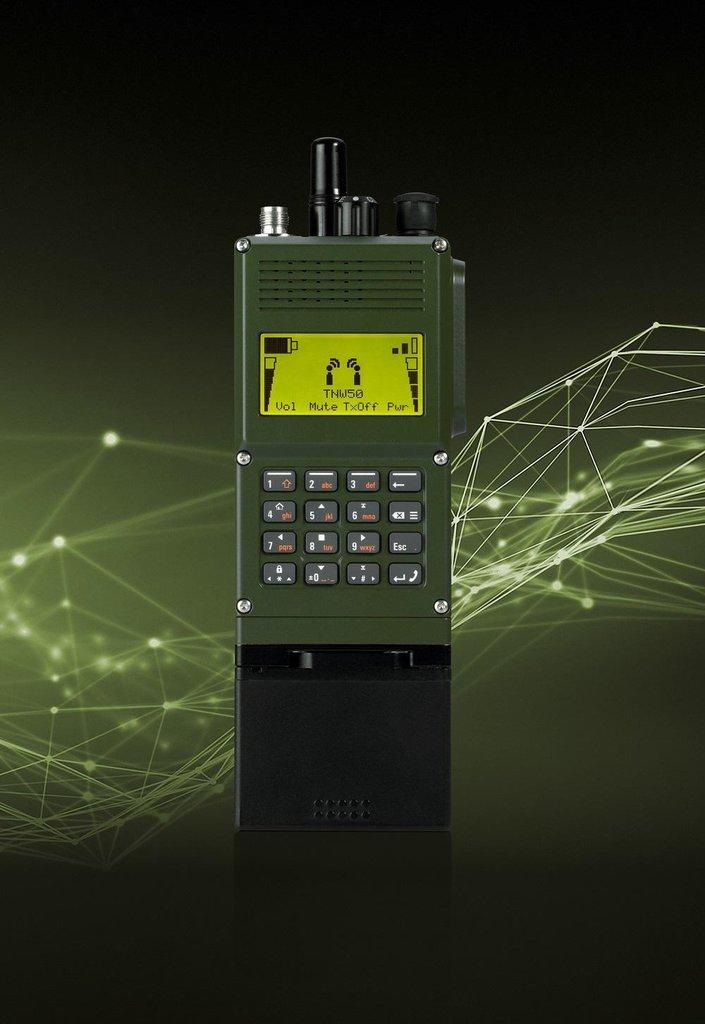 SOVERON, nové lehké ruční softwarově definované rádio společnosti DICOM
