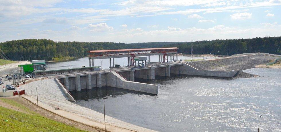 Vodní elektráren Mavelu v Bělorusku