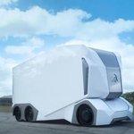 Prototyp kamionu T-Pod firmy Einride. Dojezd má 200 kilometrů.