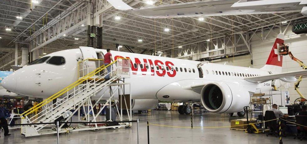 Letadlo Bombardier