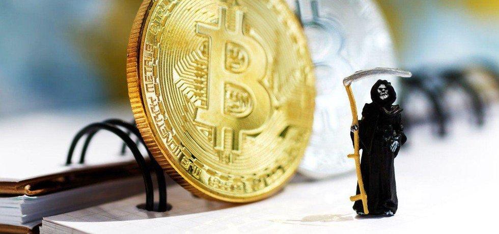 Bitcoin a emoce, ilustrační foto