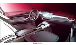 Interiér Škoda Vision RS