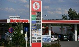 Čerpací stanice Benzina
