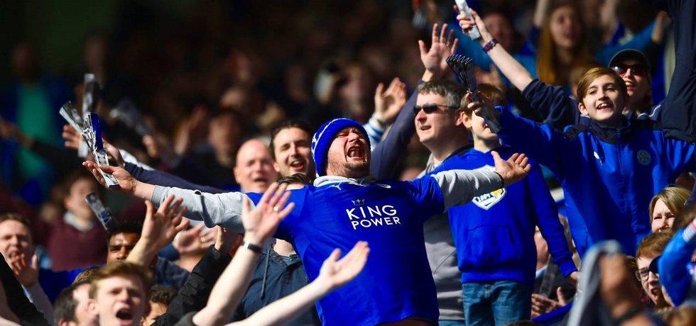 Fanoušci fotbalistů Leicesteru