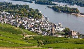 Rüdesheim, oblíbená turistická destinace v Porýní