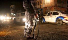 Zásah policie v Mexiku, ilustrační foto
