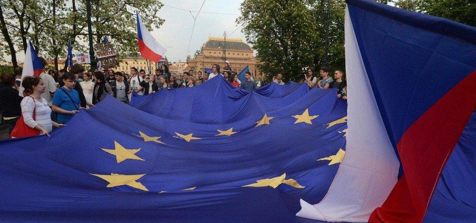 Podpora EU a NATO v Česku stoupla