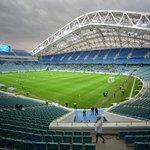 Olympijský stadion Fišt v Soči byl také dějištěm zimní olympiády v roce 2014
