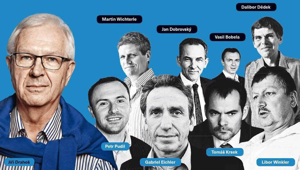 Miliardáři v zádech Jiřího Drahoše